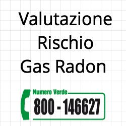 valutazione rischio gas radon
