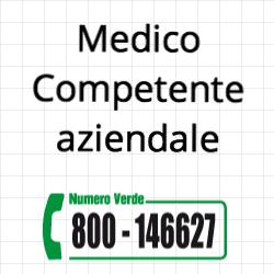 medico competente aziendale per valutazione rischi