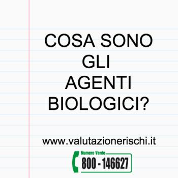agenti biologici sicurezza sul lavoro
