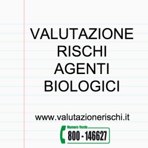 valutazione rischi agenti biologici